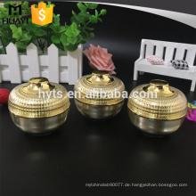 15g 30g heißer verkauf gold farbe schüssel form acrylsahneglas