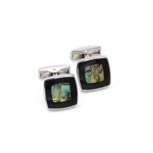 VAGULA concha clássica Popular Gemelos botões de punho (HLK35146)