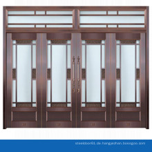 Moderne Eintrag Tür kommerzielle gläserne Eingangstür