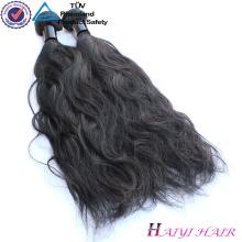 Não transformado nenhum emaranhado nenhum derramamento do cabelo humano peruano do Virgin
