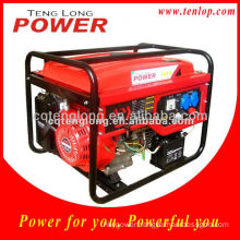 2.5-2.8 kw Recoil/ Electric Start Gasoline Generator 5.5 hp
