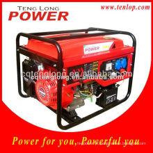 2.5-2.8 kw Recoil / começo elétrico gasolina gerador 5.5 hp