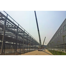 Structure en acier léger Structure de construction de châssis avec toit en acier