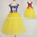 Ropa para niños Verano nuevas flores de estilo europeo Ropa de niñas Princesa hecha a mano vestido de tutú al por mayor