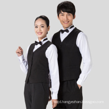 Restaurant Waiter Vest Hotel Waiter Vest Restaurant Clothing Hotel Uniform Reception Uniform