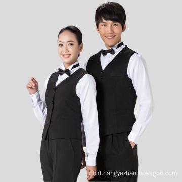 Restaurant Waiter Vest Hotel Waiter Vest Restaurant Clothing Hotel Uniform Reception Uniform