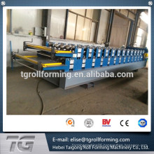 Easy operation High-class double layer roof and wall roll forming machine with easy ordering process