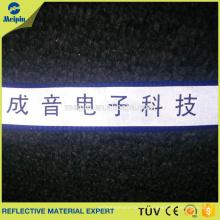 Fabrique correas reflectantes de poliéster de alta visibilidad para el cinturón de seguridad
