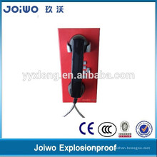 High quality industrial telephone with coiled cord corded telephone handset