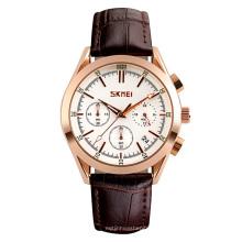 Best Gifts Wholesale 3atm Waterproof Square Men Quartz Watch From Skmei 9127