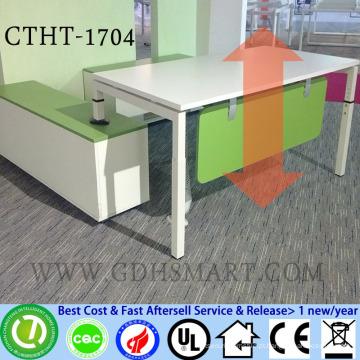 Cadeiras confortáveis para o idoso altura do parafuso manual mesas ajustáveis mesas de escritório