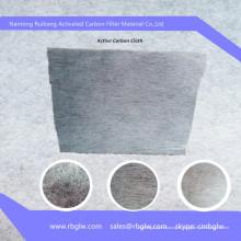 Tissu filtrant de zéolite de charbon actif