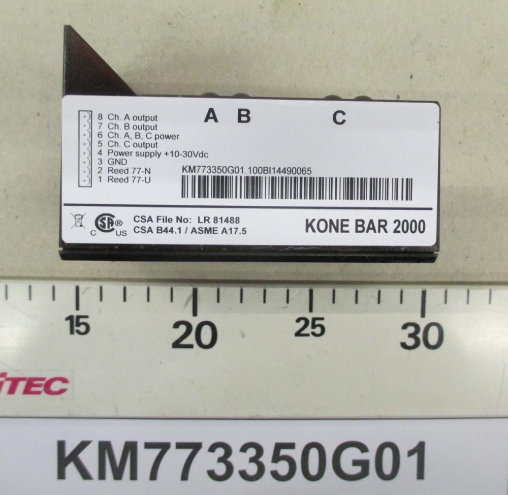 KM773350G01 Lecteur Bar 2000