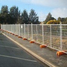 Arch-type stainless steel retractable fence