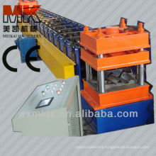 2 waves steel highway road guardrail roll forming machine