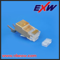 Made In China High quality RJ45 Modular Plug with Holes