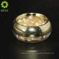 Cosmético compacto 10g 20g 30ggold polvo compacto
