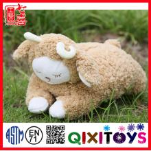 tampa da caixa de tecido / plush bonito animal em forma de caixa de tecido cobre / lovely plush caixa de tecido de ovelha bonito