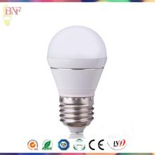 Bulbo global E27 3W / 5W de la fábrica de G45 PC LED con la iluminación de Hangzhou