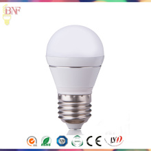 Bulbo global E27 3W / 5W da fábrica do diodo emissor de luz do PC G45 com iluminação de Hangzhou