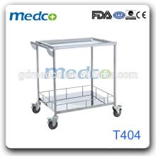 Edelstahl Mobile Medizinische Geräte Carts Für Krankenhaus T404