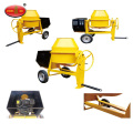 Portable Electric Mini Drum Cement Concrete Mixer