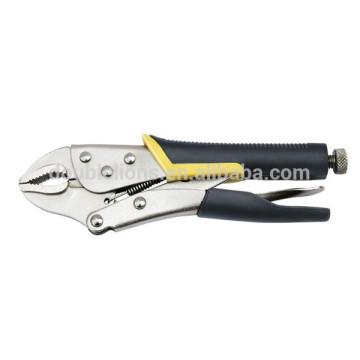 Kuerbis Kiefer Sperre Schraubenschlüssel, Dual Material Griff, offenen Kiefer Schraubenschlüssel