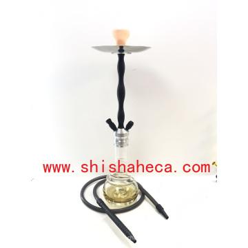 Nouvelle conception en gros Nargile en aluminium fumant le tuyau Shisha narguilé