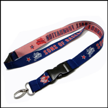 Silk/Satin Woven/Jacquard/Knitting Logo Custom Lanyard for Show