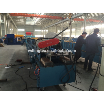 rain water round pipe forming machine