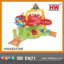 Красочные пластиковые игрушки Автомобильные станции Детские игры
