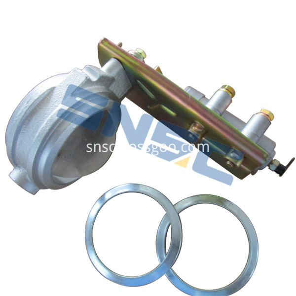 3523010-Q206 Exhaust brake and pipe joint assembly