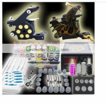 2014 com alta qualidade e barato preço mais novo Kit de tatuagem profissional