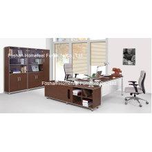 Меламиновая деревянная Мебель для Руководителя (HF-B201)