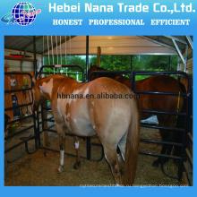 горячая окунутая гальванизированная стальная портативная конюшня для продажи