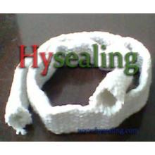 Fibra cerâmica do tubo do Sleeving para a temperatura elevada