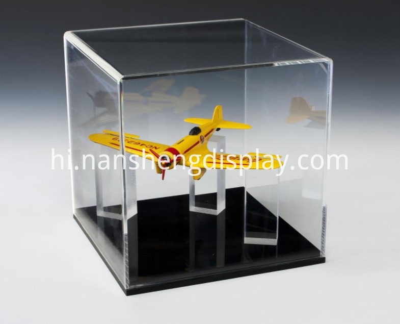 Clear Acrylic Memorabilia Display Case