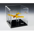 Acrylic Memorabilia Display Case With Removable Cover
