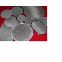 Uso de reciclaje de plástico Pantalla de extrusión de acero inoxidable