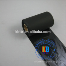 black barcode ribbon 60mm*300m wax resin for adhesive paper label printing