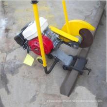 O trilho railway da máquina de corte da combustão interna vê o cortador de trilho para venda