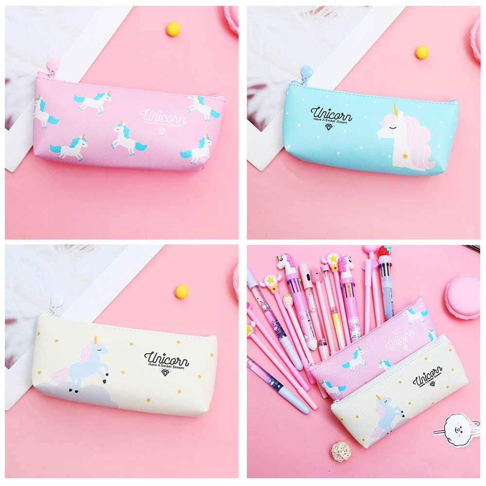 Unicorn Pu Pencil Case 2