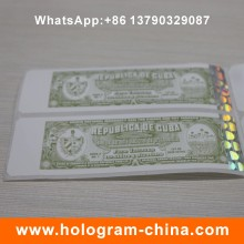 Custom Security Hologram Hot Stamping Sticker