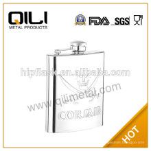 8oz en acier inoxydable classique Hip Flask