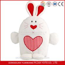 Customize realist vibrator white rabbit soft toy