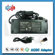Alta calidad fábrica universal ac / dc 60w 12v 5a adaptador de corriente
