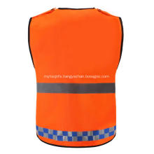 100% polyester shot sleeve warning Safety reflective jackets