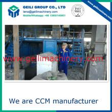Muy baja inversión total CCM / fundición de metales