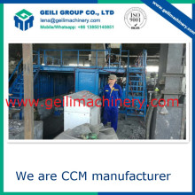 Très faible investissement CCM / Metal Casting