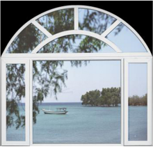 Sunsia Geometric Shaped Windows Customize for Customer